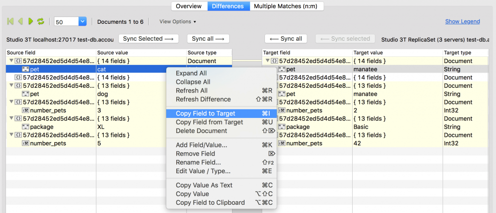 Copy field to target makes a sync job from source to target collections a breeze