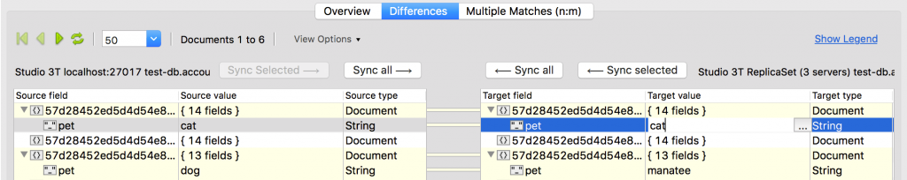 The best part: you can sync your data in-place by double clicking on a field