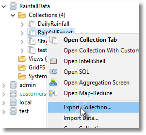 Now that the aggregation has reduced the data, we can prepare it for export