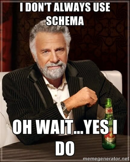 You must always use schema - even in MongoDB