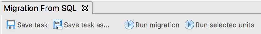 Choose Run selected units from the toolbar