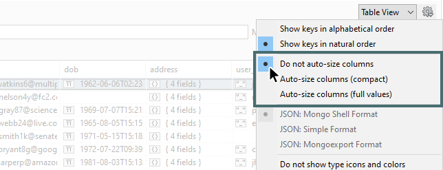 Auto-size column widths in Table View