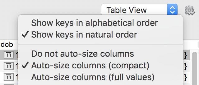 Set column widths automatically
