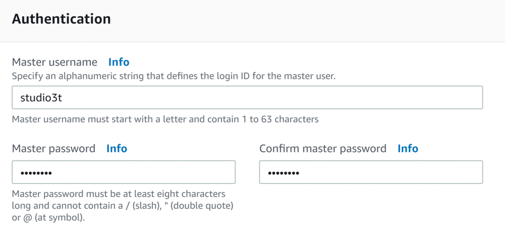 cluster authentication