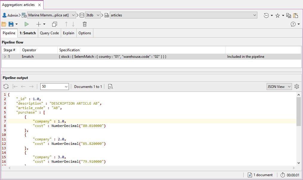 Studio 3T's Aggregation Editor simplifies building aggregation queries
