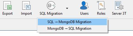 SQL to MongoDB Migration