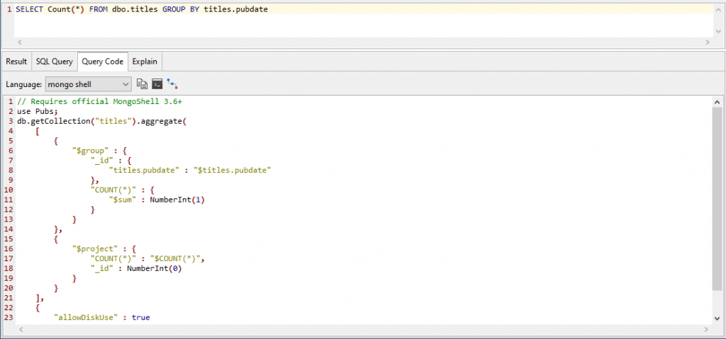 Editing the SQL query to filter it to the results that we want