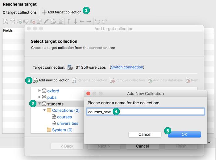 Add a new Reschema target collection