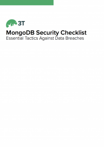 MongoDB security checklist whitepaper