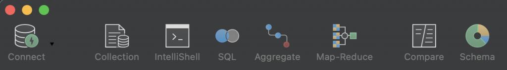 MongoDB Charts - Toolbar SQL